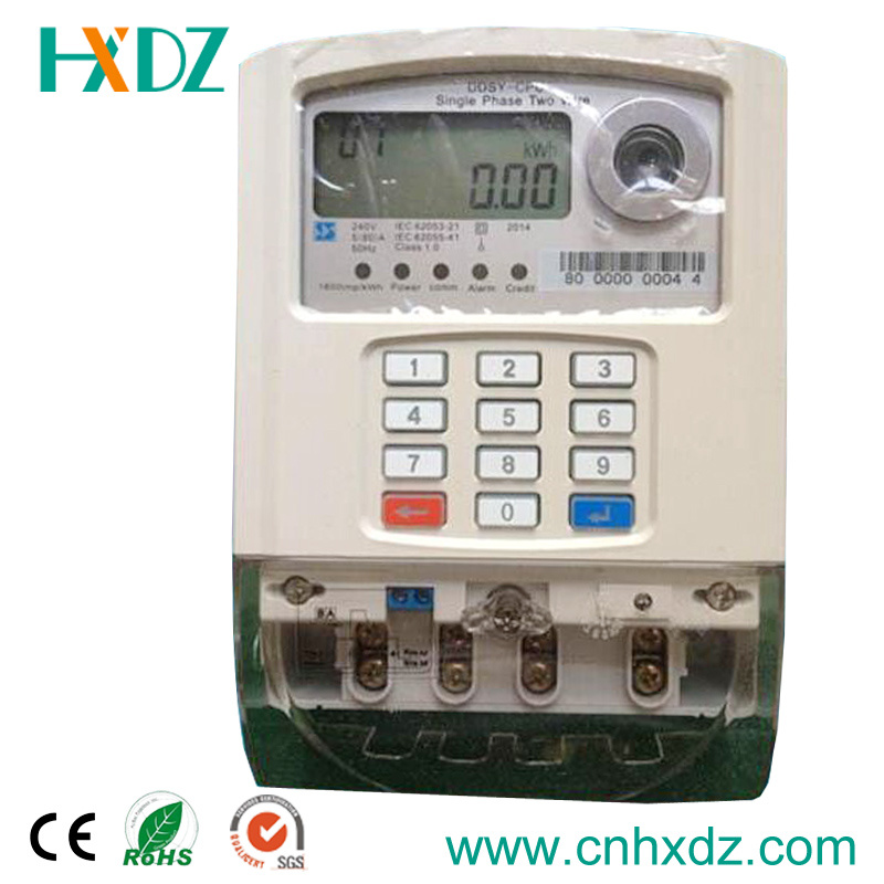 Keypad Prepaid Electric Energy Meter