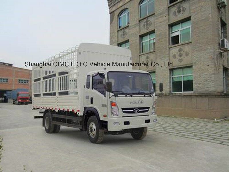 Sinotruck Light Truck 4*2 Storage Stake Truck