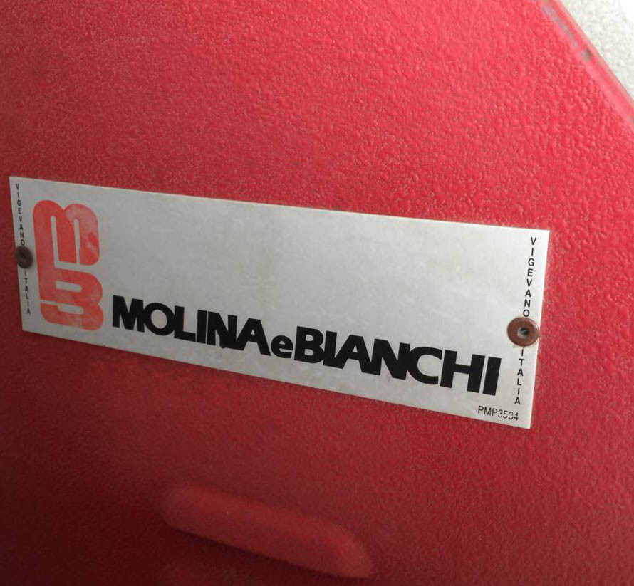 Used Italy Molina E Bianchi Automatic Toe Lasting Machine