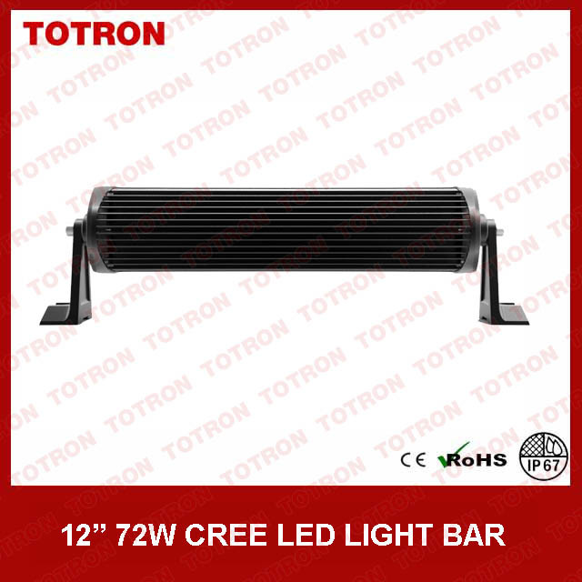 "13.5"" 72W Curved off Road LED Light Bar with CREE LEDs (TLB3072X)"