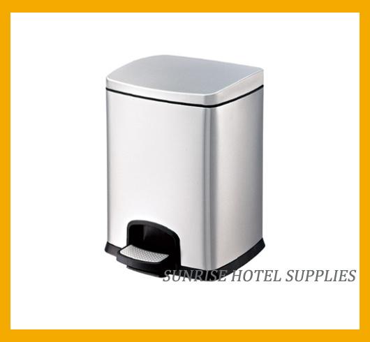 Hotel Anti-Fingerprint Waste Bin