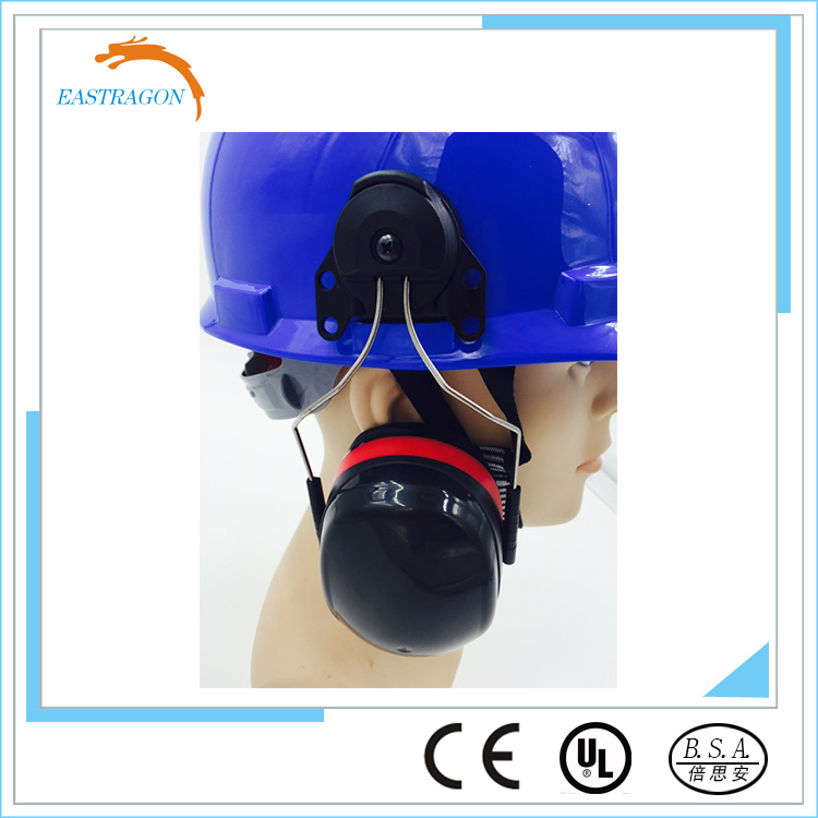 Protector Safety Helmet with Earmuff