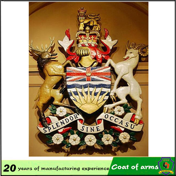 Royal Coat of Arms/ UK Metal Royal 3D Emblem