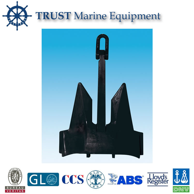 China Manufacturer Supply High Quality Marine AC-14 Stockless Anchor