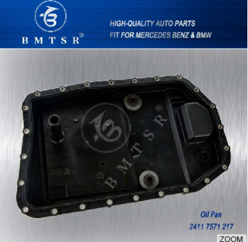 Best Car Spare Parts Transmission Oil Pan 24117571217 with Good Price for BMW E60 E70 E83 E90