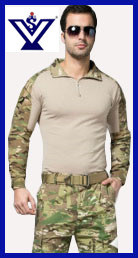 Tight Tactical Acu Camouflage Frog Suit Military Uniform (SYSG-237)