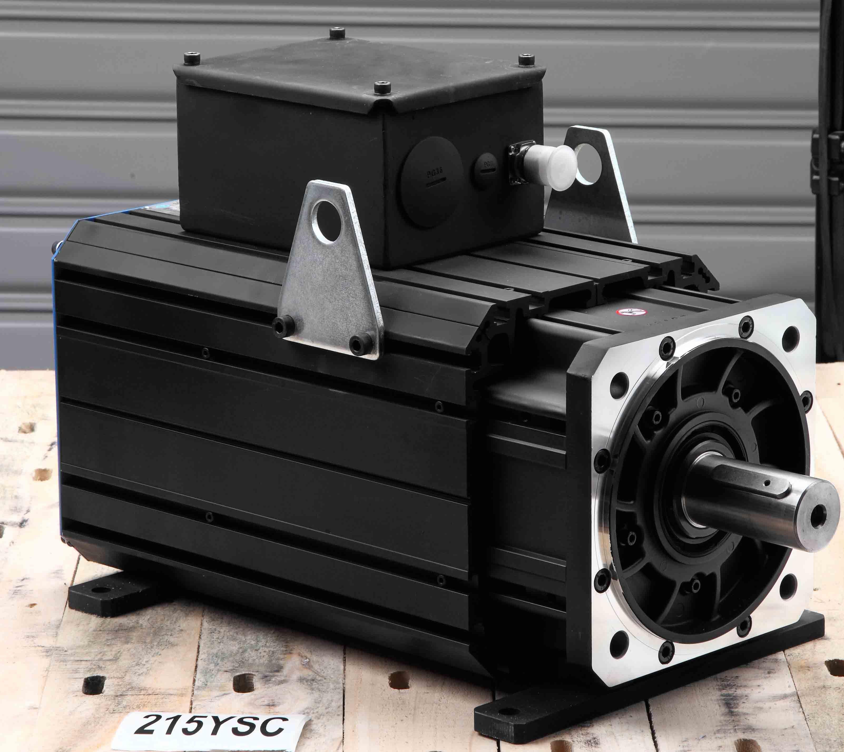 AC Permanent Magnet Servo Motor 215ysc20f 105nm 2000rpm
