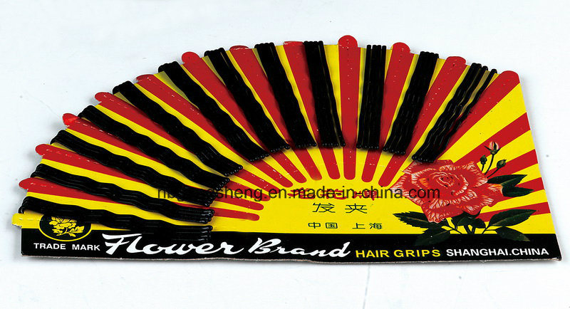 Popular Metel Hair Bobby Pin Shanghai Flower 7047p