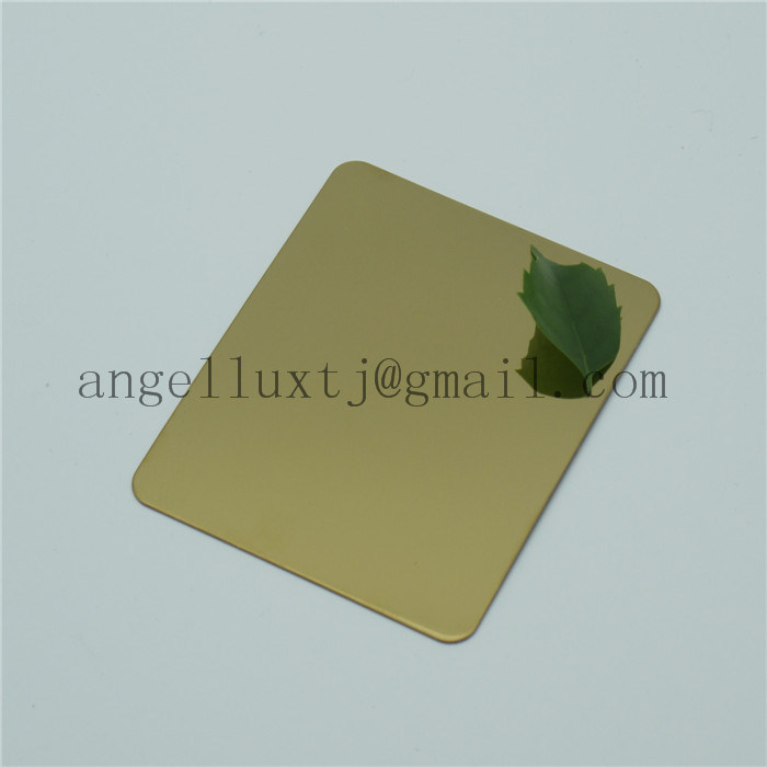Beautiful No. 8 Super Mirror Finish Silver Color Stainless Steel Sheet Plate for Hotel Decoration