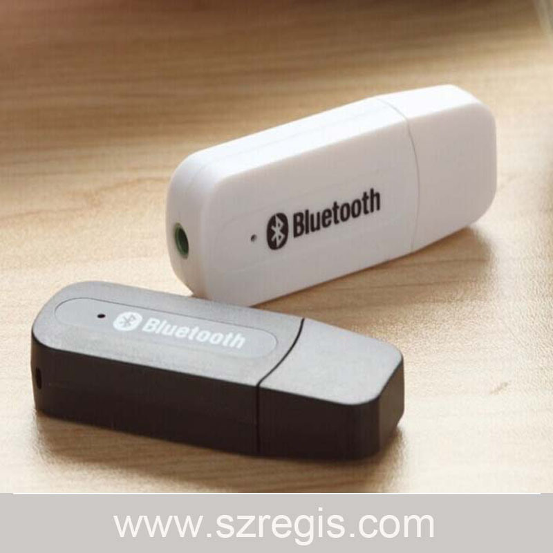 2-in-1 Version 4.0 (AXU / USB) Bluetooth Dongle Audio Music Receiver