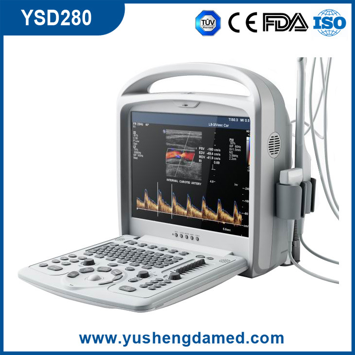 CE Medical Equipment 3D 4D Hand-Held Portable Color Doppler Ultrasound