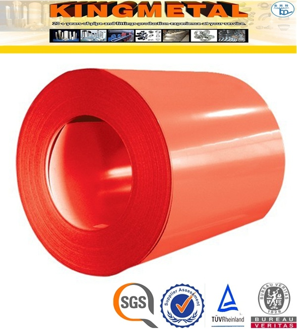 Ral 9012 Colour Coated Prepainted Galvanized Steel Coils Price