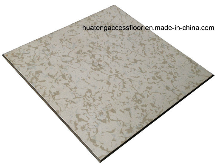 Anti-Static Raised Access Floor with Integral Edge Trim (45 degree beveled edge)
