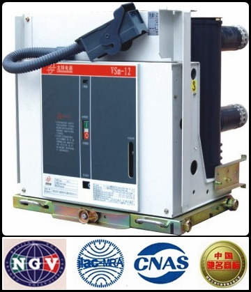 Vsm-12 Indoor High Voltage Magnetic Circuit Breaker with ISO9001-2000