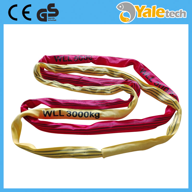 Polyester Feather Lifting Belt Nylon Webbing Sling