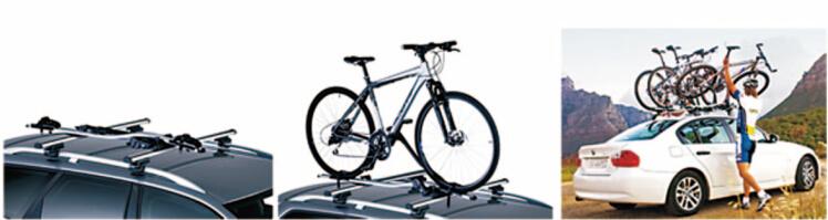 Car Roof Bar Storage Bike Rack