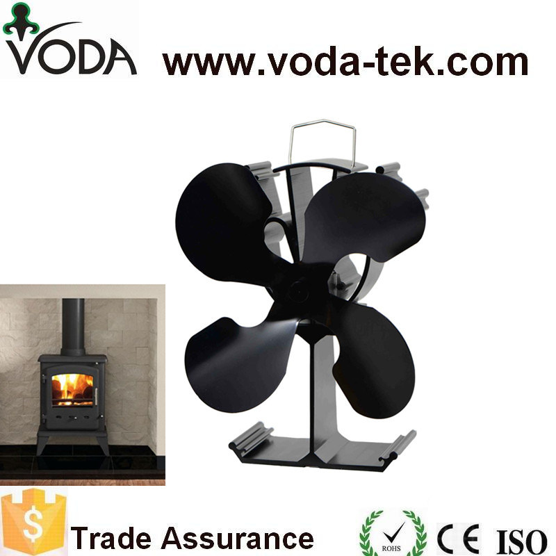 Eco-Friendly Wood Stove Fan with 2 Blades