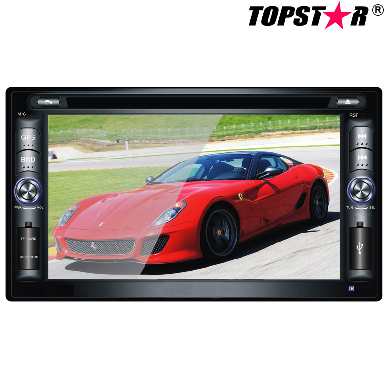 6.2inch Double DIN 2DIN Car DVD Player with Wince System Ts-2014-2