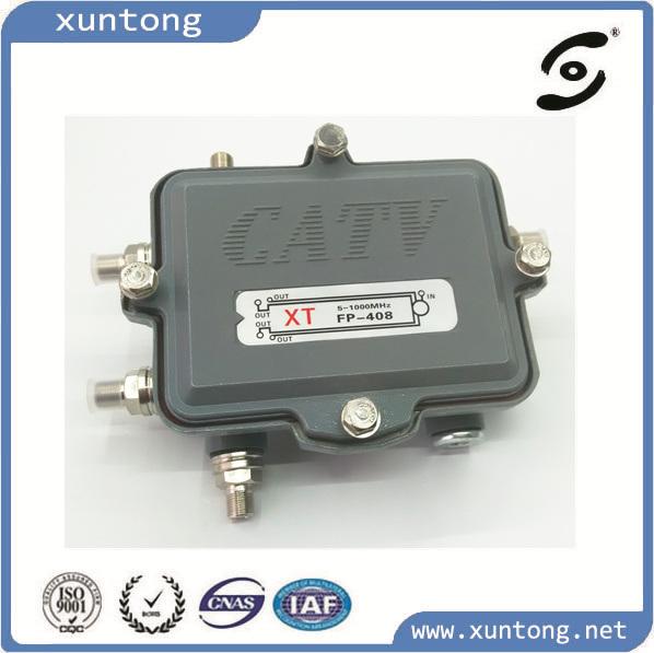 Full Power-Passing CATV Splitter&Taps Outdoor/Indoor