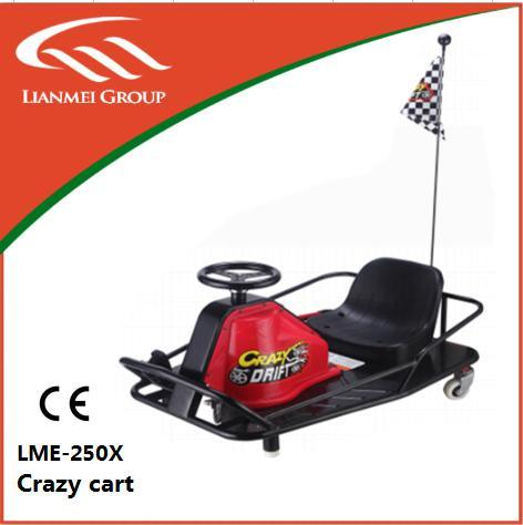 2016 New Safe Crazy Drift Cart 250W for Kids Use Only Made in China