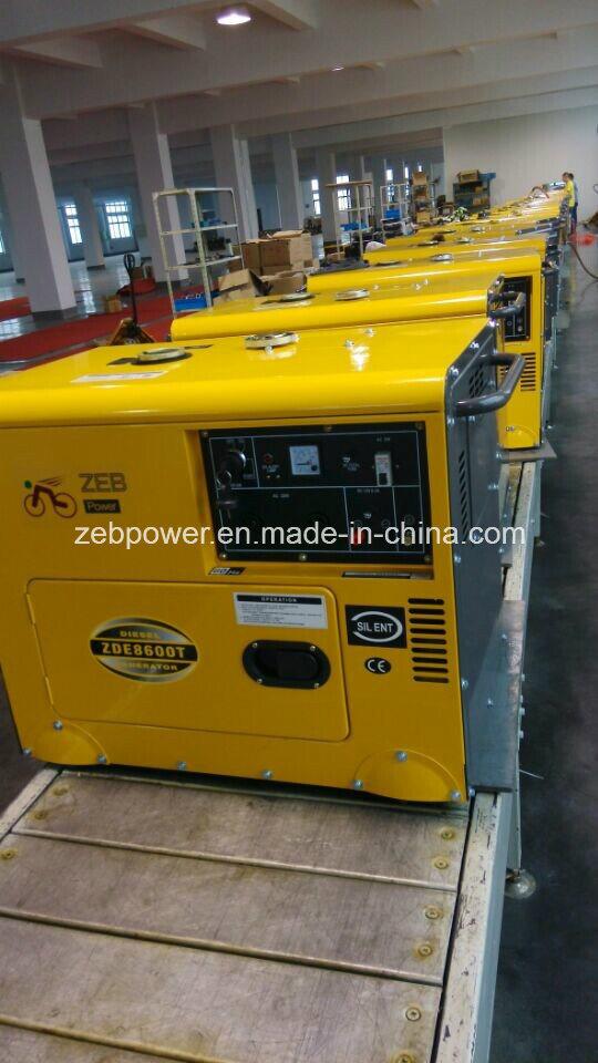 7kVA Silent Type Portable Generators (ZDE8600T)