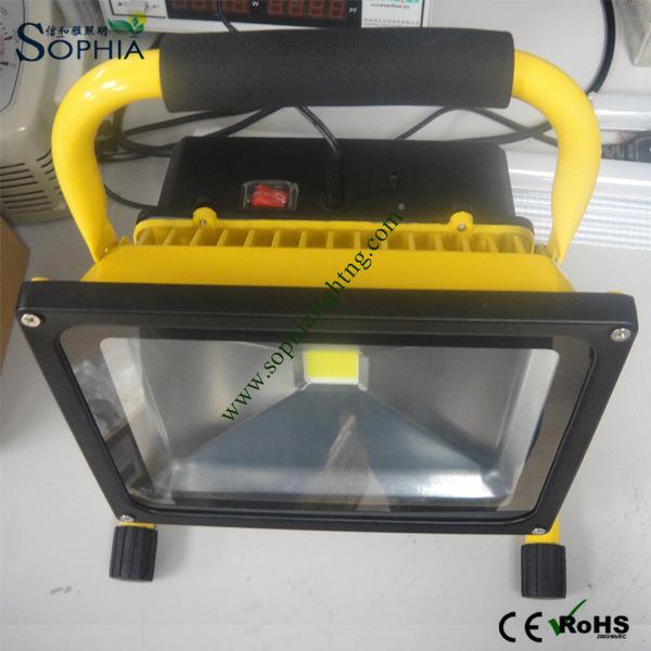 30va LED Working Light, LED Work Lamp, Rechargeable Flood Light,