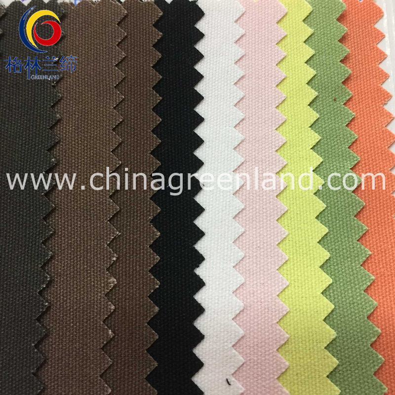 100%Cotton Canvas Plain Fabric for Textile Sofa Bags (GLLML229)