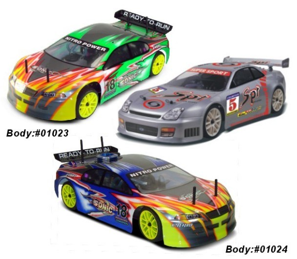 1: 10th Nitro Power Racing Game RC Car for Man