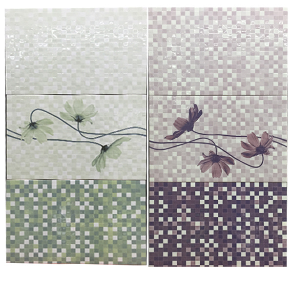 3D Inkjet AAA Grade Mosaic Design Bathroom Ceramic Wall Tiles