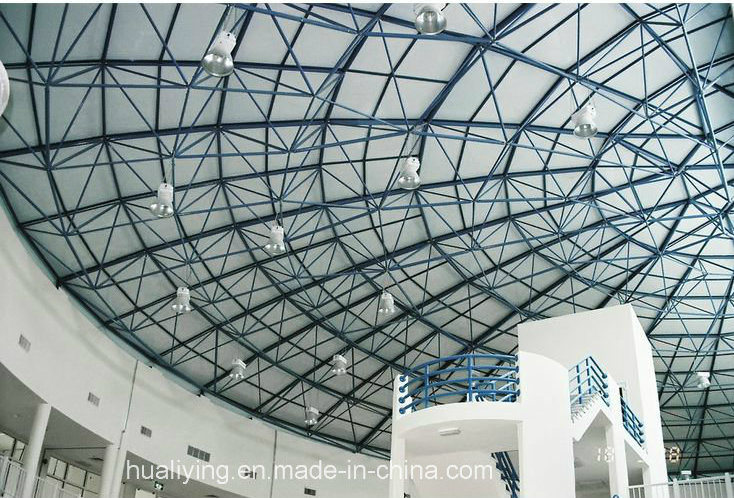 Light Steel Structure Space Frame for Large Span Roofing