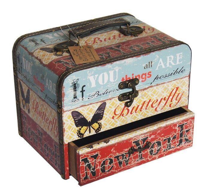 Hot Sale Retro Chic Wooden Storage Box