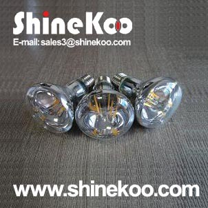 Glass R80 8W LED Filament Lamp (SUN-8WR80)