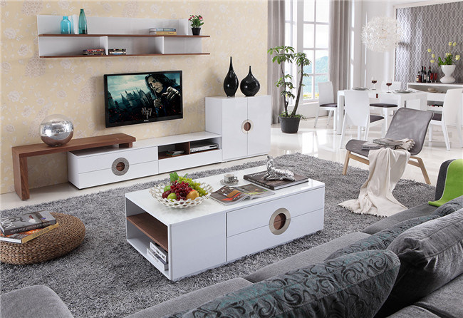 Italian Design Top Quality TV Stand Furniture (DS-2024)