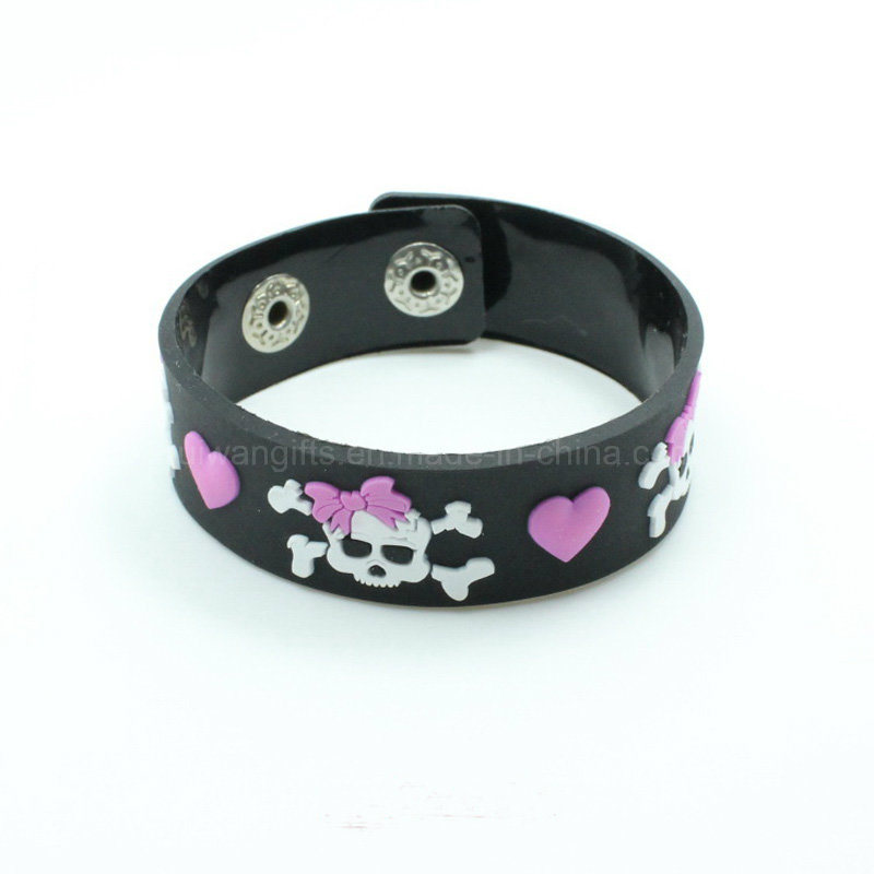 Custom Made Soft PVC Bracelet for Promotion (BR022)