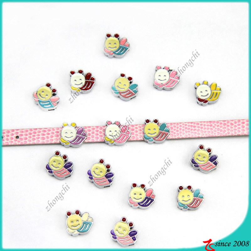 Cute Bee Slide Charms DIY Bracelet Charms (SC16040959)