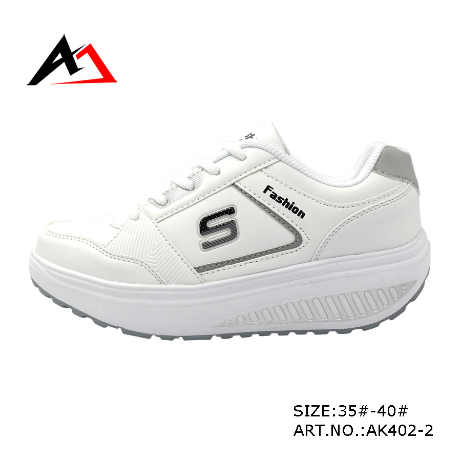 Health Shoes Fashion Leather Casual Shoe for Women (AK402)