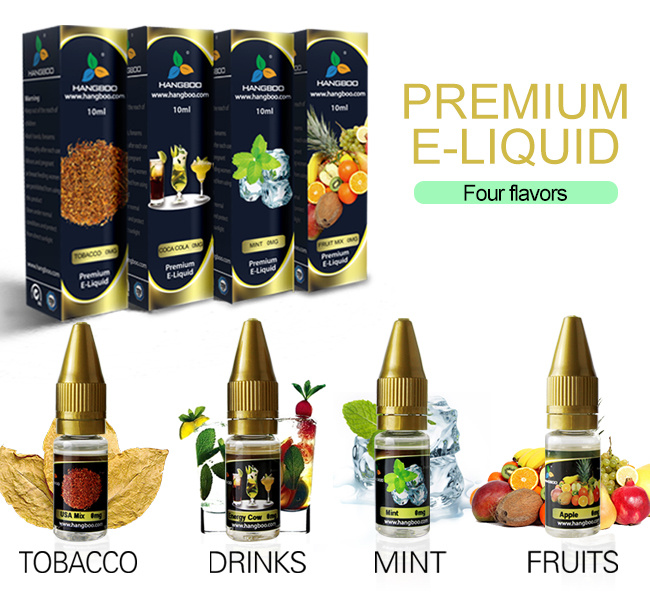 Tpd E Liquid E Juice From China Factory with Middle Nicotine