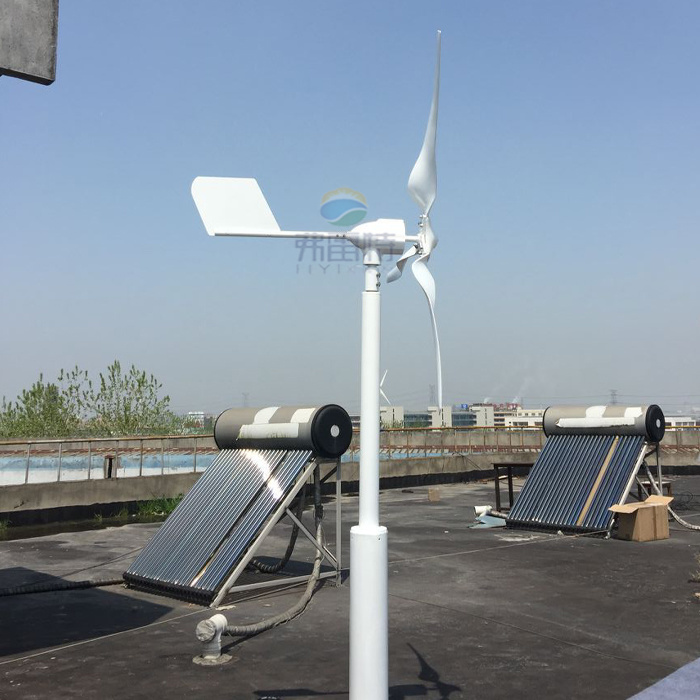 800W Rated 600W Wind Mill Generator 24V 12V System with Controller and Inverter