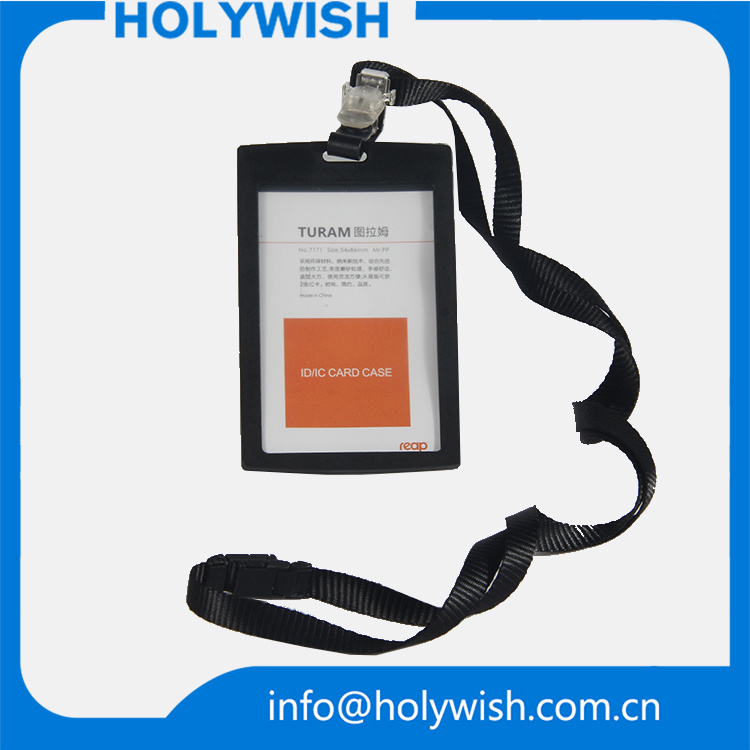 Security Card Badge Holders with Lanyards ID Name Holder