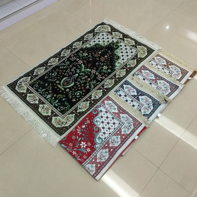 Jacquard Prayer Mat Rugs 70× 110cm