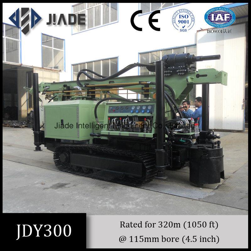 Jdy300 Crawler Mounted Hydraulic Drilling Rig