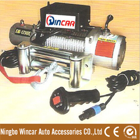 12000lbs 12V 24V 4WD off Road 4X4 Car Electric Winch