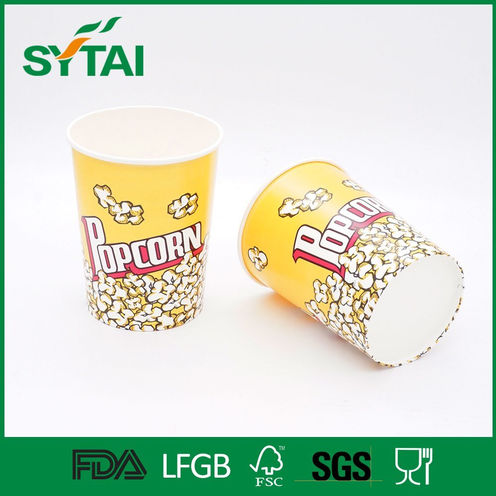 Wholesale Customized Printing Vending Cinema Paper Popcorn Bucket
