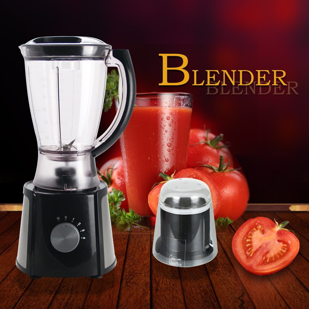 New Design CB-B355 Knob Switch 4 Speeds 2 in 1 Blender