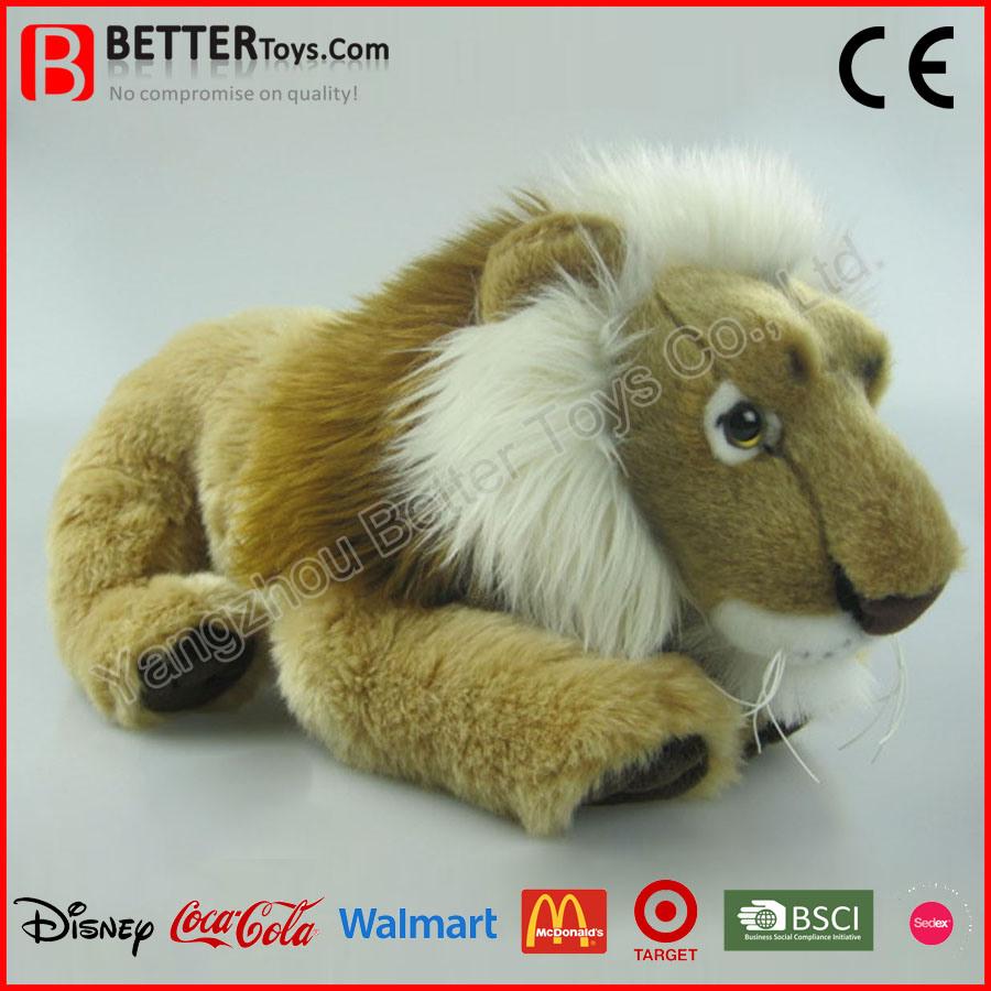 Soft Lifelike Stuffed Animal Plush Toy Lion