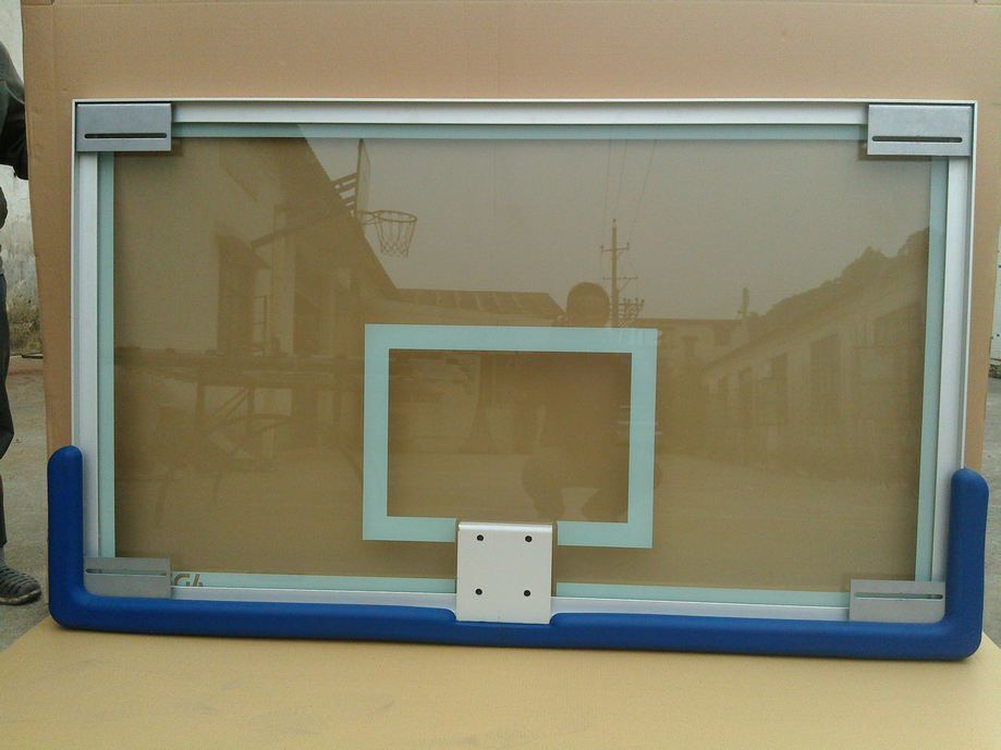 High Quality 72′′*42′′ Tempered Glass Basketball Backboard