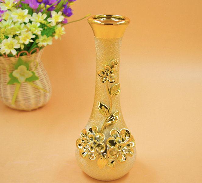 DIY European Fashion Ceramic Flower Vase Home Decoration Small Ceramic Vases