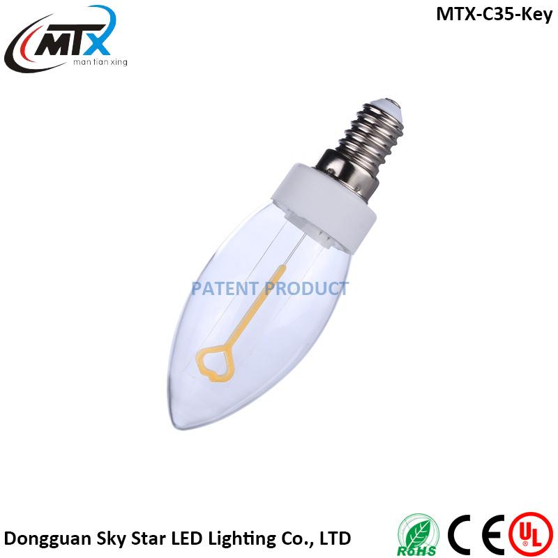 LED Filament Energy Saving 3W 220V 110V Lamp for Home