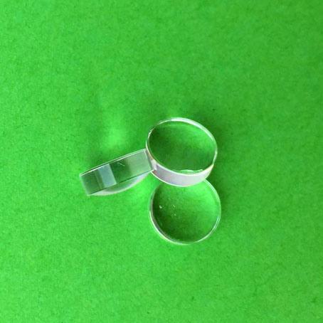 Danpon Aspheric Collimator Glass Lens Focal Glass Lens