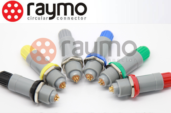 Lemo Plastic P Medical Connector Pag 2 3 4 5 6 7 8 9 10 14 Pin Male Plug